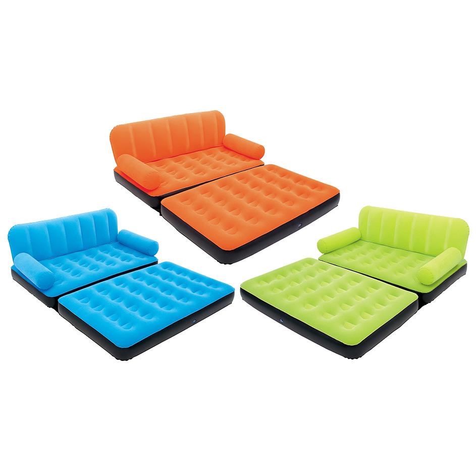 Inflables charrua sillon cama inflable 2 plazas colores for Sillon cama 2 plazas precios